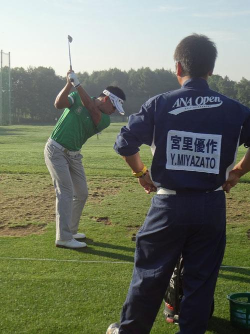 第40回 ANAオープンゴルフトーナメント 予選2日目