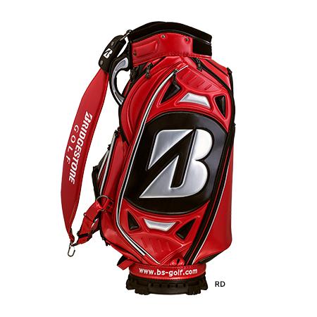 キャディバッグ:ブリヂストン ゴルフ Bridgestone Golf:CBG50L RD